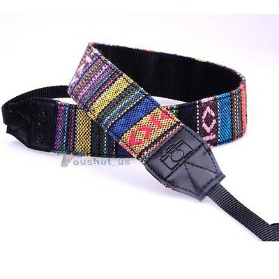 #03 Camera Neck Strap For Canon PowerShot G1 X SX50 SX40 SX240 HS DSLR Camera