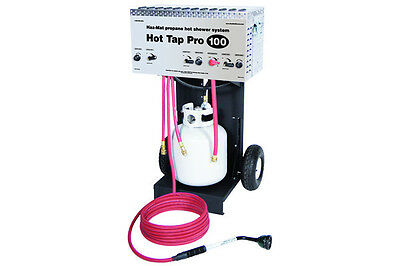 Zodi Hot Tap Pro 100 (MPN 5170) - Decon, Hazmat, Military, Very High Flow Shower