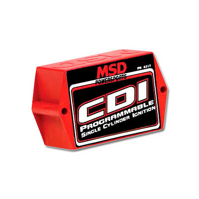 MSD Powersports Universal CDI PC-Programmable Single Cylinder Ignition PN: 4217