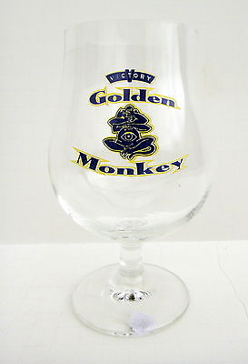 Victory Brewing Company Pennsylvania Golden Monkey Beer Snifter Glass