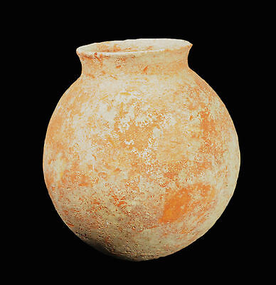 Aphrodite- Ancient Roman Red-Slip Clobular Pottery Jar