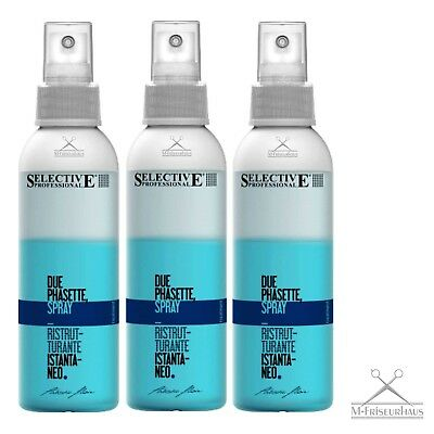 (€28,87/1L) 3 x 150ml SELECTIVE PROTEK DUE PHASETTE 2-Phasen Spray =450ml