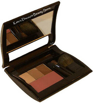 Filled Mary Kay Black Compact ~ You Choose 3 Eye Color Shadows  & 1 Blush
