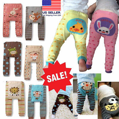 5bf7ad3e6d065 Japanese Baby Boy/Girl Toddler Pants Kawaii Animal Infant Thick Leggings  6M-3T
