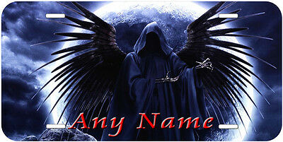 Reaper Aluminum Any Name Personalized Auto Tag Novelty License Plate R06
