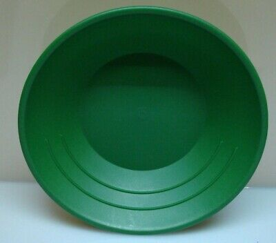 "Gold Pan Mining Panning plastic Prospecting for Miners NEW 10"" 3 RIDGES"