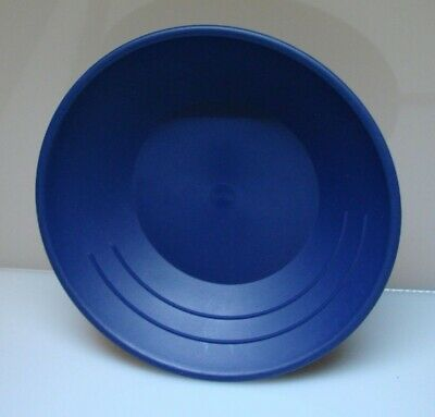"Gold Pan Mining Panning plastic Prospecting for Miners 10"" BLUE 3 RIDGES"