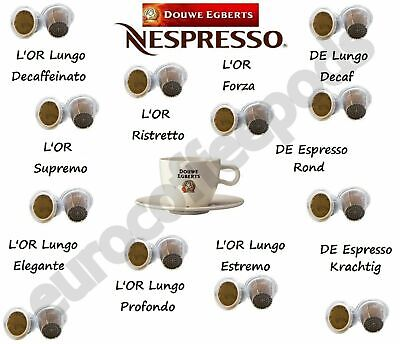 Nespresso Compatible Capsules Douwe Egberts 40 Pod Pick From 11 Blend Sold Loose