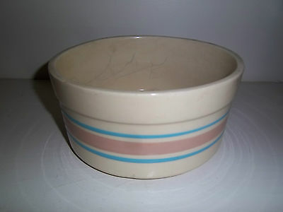"""Vintage Mccoy Souffle Bowl # 0143  Appx 7 1/2"""" Wide X 3 1/2"""" Tall"""