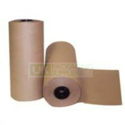 Brown Kraft Paper Rolls Heavy Duty 88gsm 500mm Wide CHOOSE YOUR QTY + LENGTH