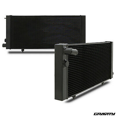 """Universal 16"""" Curved Blades 12V Radiator Intercooler Electric Cooling Fan Pair"""