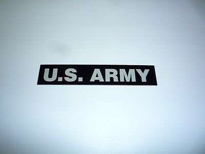 """U S Army Patch Desert Tan On Ir Mb 5.25""""x1"""" With Velcro® Brand Fastener Coll#380"""