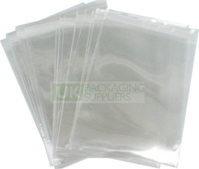 Clear Plastic Polythene Poly Mailing Bags 9x12 Postage Pouches CHOOSE YOUR QTY