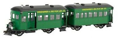 "BACHMANN SPECTRUM 28457 - 0n30 - RAILBUS ""GREENBRIER & BIG RUN"" DIGITALE"