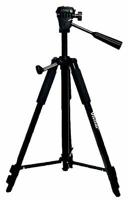 Vivitar 3 Way Pro Fluid Pan Head Tripod 57 Inch For Camera and camcorder