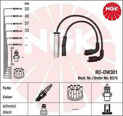 New Ngk Ignition Leads Cables Set Chevrolet Kalos Daewoo Lanos 1.4 1.5 Klat Oe