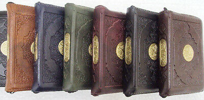 Complete Quraan Koran Quran pocket size Leather & Zippered Case Uthmani HQ   387