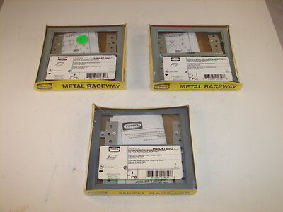 Hubbell Hbl4750Gy Grey Device Mounting Bracket Raceway Fitting (Lot Of 3) *Nib*