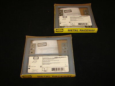 Hubbell Hbl4750Gy Device Mounting Bracket Raceway Fitting Grey (Lot Of 2) *Nib*