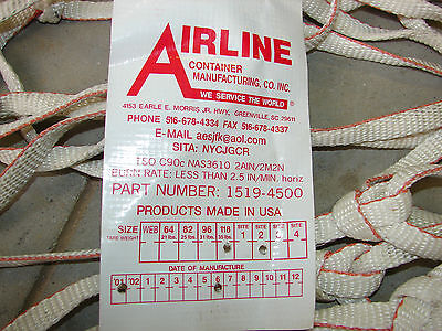 *NEW* Airline Container Cargo Net 1519-4500-118 Aircraft Airplane Air Shipping