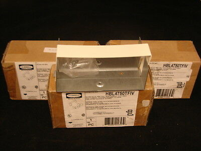 Hubbell Hbl4750Tfiv Metal Fitting, Raceway Trans Hubb To Wm (Lot Of 3) ***Nib***