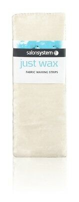 Salon System Just Wax Fabric Waxing Strips Pack of 100 Strips