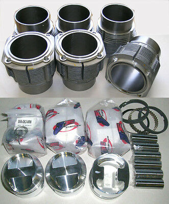 Porsche 911 84mm JE Piston & Cylinder Kit 2.2 & 2.4