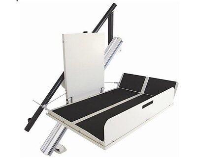 Incline Platform Wheelchair Lift (vertical lift, stair lift, mobility lift)
