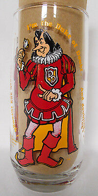 VINTAGE! 1979 Burger King Collector Glass-Duke of Doubt