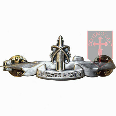 MoD Issue RN ROYAL NAVY Submariner OR's Patrol Badge SSBN CASD ( All Ranks Large