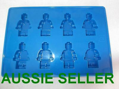 Lego Man Minifigure Silicone Chocolate Ice Cake Mold Mould Party Novelty Fun