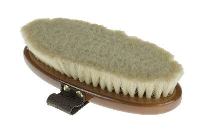 Horze Large Natural Goat Hair Soft Brush - Horse Grooming Brushes