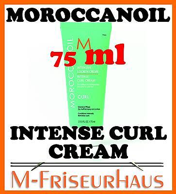 (€15,60/100ml) MOROCCANOIL intense Curl Cream Lockencreme 75ml  + BONUS
