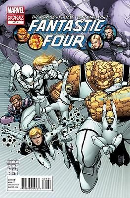 FANTASTIC FOUR # 601 Rare Variant  connecting Cover  Giuseppe Camuncoli