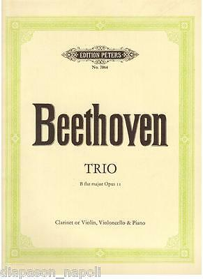Beethoven: Trio op.11 per Clarinetto, Violoncello e Piano - Peters
