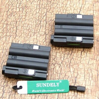 New Battery Packs 5R For Midland Radio GXT-300 GXT-325 GXT-400 GXT-444 GXT-450