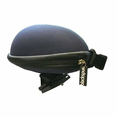 Hard Shell Saddle Bike Bag with Quickclip Cycling Accessory