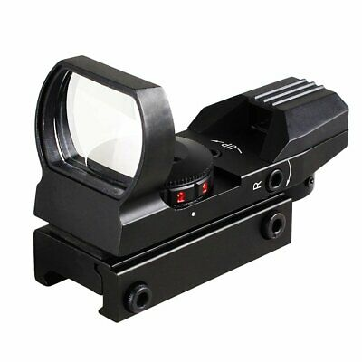 Holographic Laser Red /Green 4 Reticle Dot Sight Projected Reflex Scope for Gun