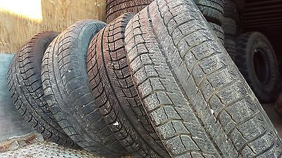 Set of 4 Winter tires and rims Michelin Latitude X ice XI2 185/60r14