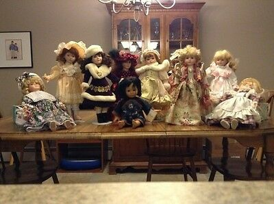 Set Of 2 Assorted Collectible Dolls Some Collectors Choice