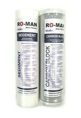 "3 Stage Reverse Osmosis Standard 10"" Filter Set 