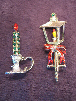 B.J. lamppost & Dodds candle pins M57
