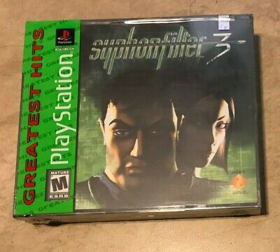 Syphon Filter 3 NEW factory sealed for the Sony Playstation 1 system