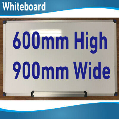 600mm high x 900mm wide Office Magnetic White Board Whiteboards