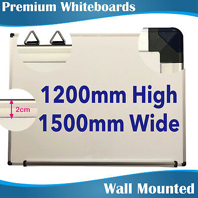 1.2x1.5m Quality Office Magnetic White Board Whiteboards EXPRESS DELIVERY