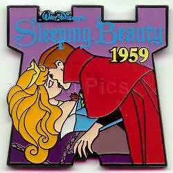 Disney DS Countdown to the Millennium Series #44 Sleeping Beauty Pin
