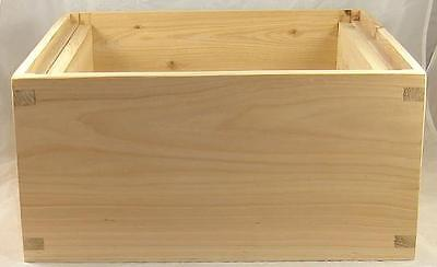 B.s National Brood Box With Frame Runners - Beehive - Hive - Cedar - Assembled