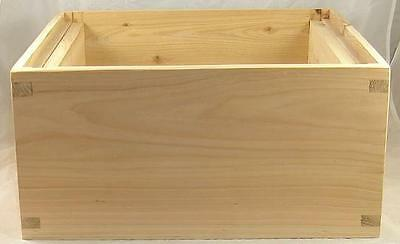B.s National Brood Box - Beehive - Hive - Cedar - Assembled