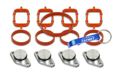 4 x 22 mm Swirl Flap Replacements Removal Blanks Manifold Gaskets for BMW M47