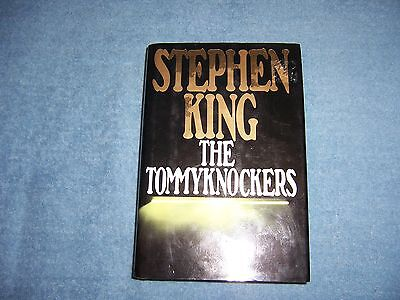 THE TOMMYKNOCKERS  by Stephen King/1st Ed/HCDJ/Literature/Fiction/Thriller